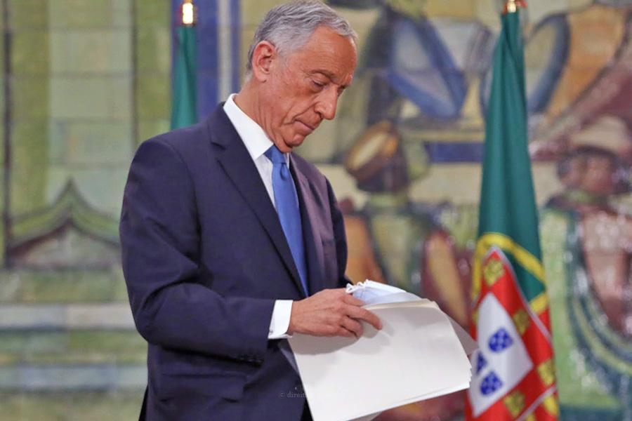 Presidente da República envia diploma para o Tribunal Constitucional