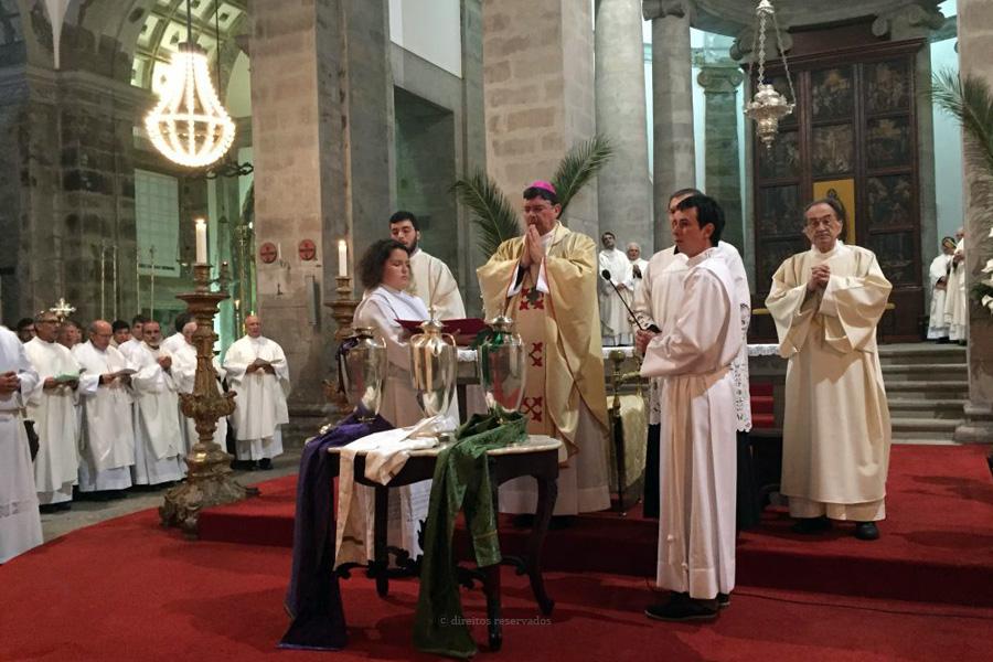 Sacerdotes renovam promessas nos dias 29,30 e 31 de março