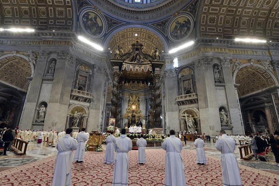 Perto das pessoas e longe do dinheiro – os conselhos do Papa aos novos padres da Diocese de Roma