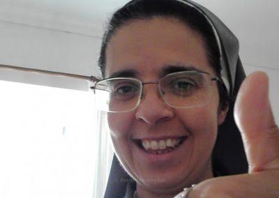 """""""A zeladora da imagem do Santo Cristo é uma mediação para o povo açoriano"""" – Irmã Célia Faria"""