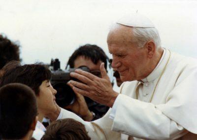 O Papa do coração dos açorianos