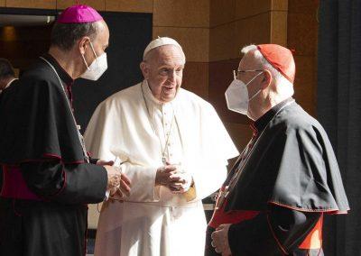 """Papa desafia bispos a promover Sínodo nacional desde o povo, """"de baixo para cima"""""""