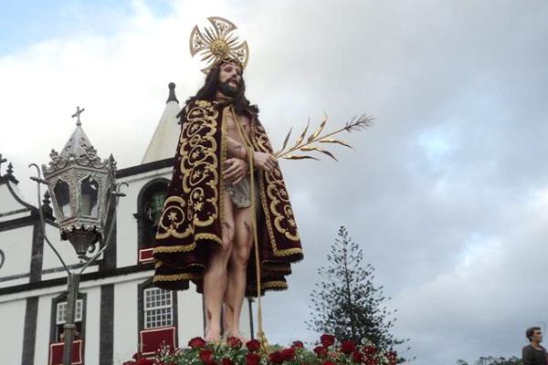 Bispo emérito de Angra preside à festa do Bom Jesus do Pico