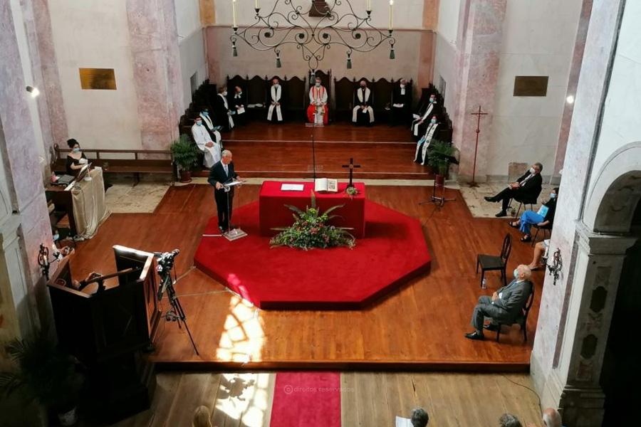 Presidente da República participou em celebração ecuménica e destacou importância da liberdade religiosa