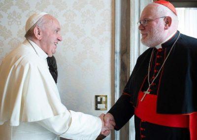 """Papa reforça necessidade de mudança diante de """"catástrofe"""" dos abusos sexuais"""