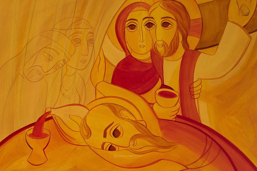 Vaticano divulga imagem oficial do Encontro Mundial das Famílias, da autoria do padre Marko Rupnik