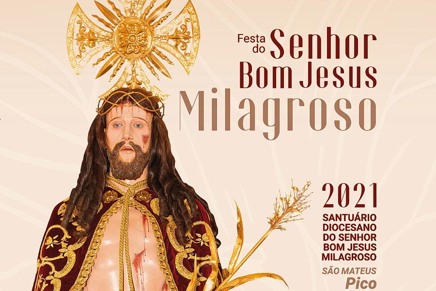 Festas do Bom Jesus do Pico começam esta terça feira com o novenário