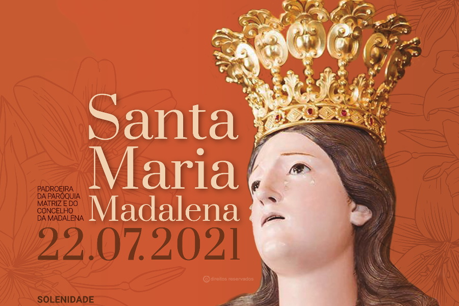 Padre Nuno Pacheco de Sousa pregará novenas de Santa Maria Madalena