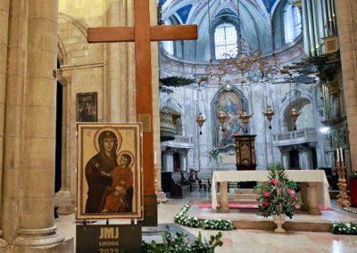 Símbolos da Jornada Mundial da Juventude de Lisboa iniciam peregrinação pelas dioceses espanholas