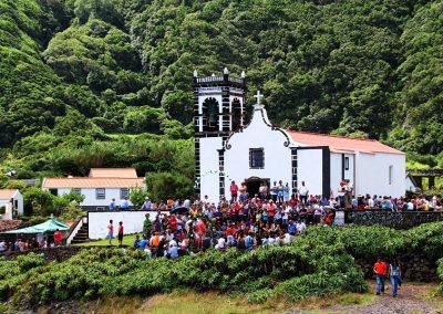 Caldeira do Santo Cristo em festa esta anual para celebrar o Senhor Santo Cristo