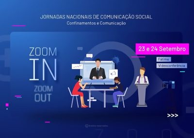 """""""Confinamento e comunicação"""" é o tema para as Jornadas Nacionais de Comunicação"""