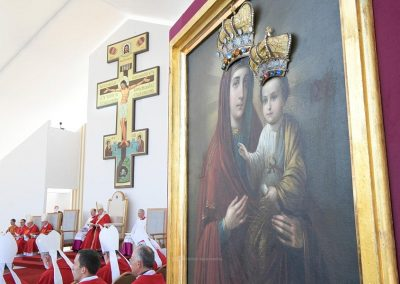 """Papa presta homenagem aos """"mártires"""" da Eslováquia"""