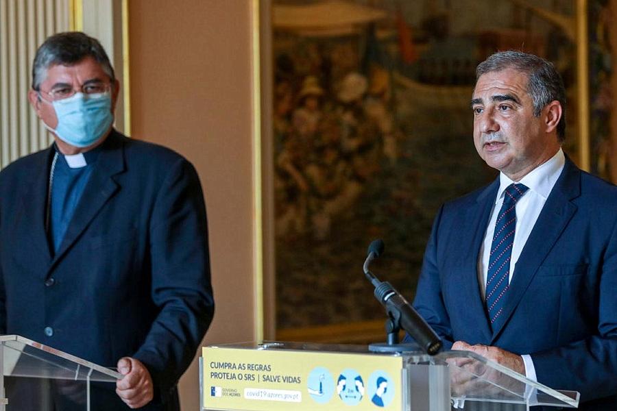 Líder do Governo Regional enaltece trabalho de Bispo de Angra e Ilhas dos Açores